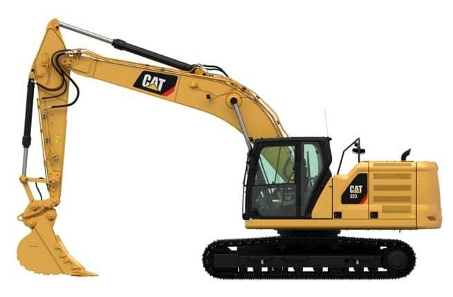 bdc1fe224 Экскаватор Caterpillar 323: обзор, цена Cat 323