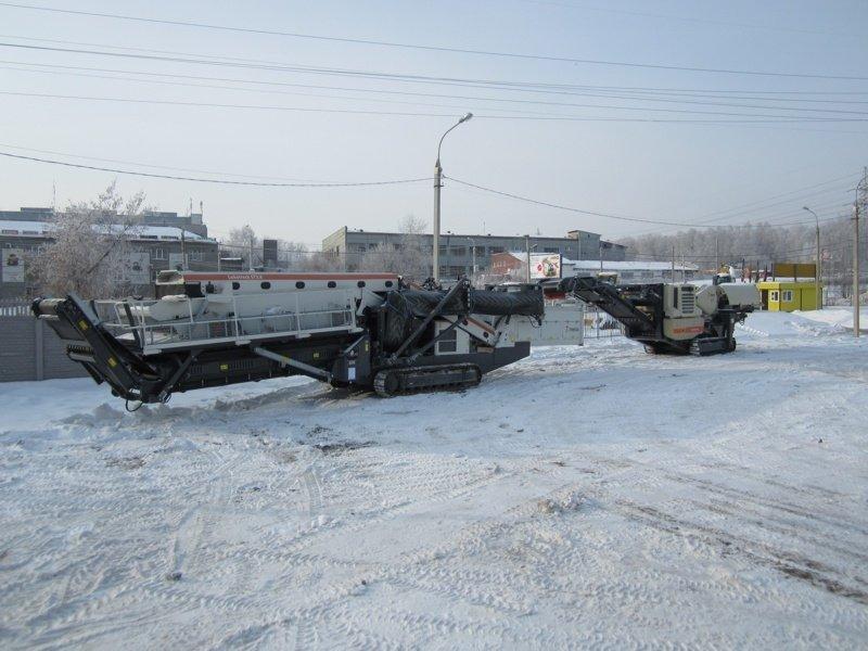 Дробильно сортировочный комплекс в Междуреченск грохот гит-53 с технические характеристики
